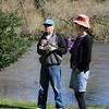 Gerald & Emily, beside the Kiewa River