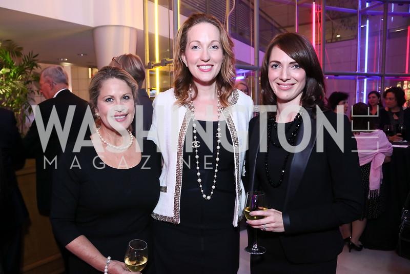 Susan Hand, Sloane Hurst, Jessica Lawrence-Vaca. Photo by Tony Powell. 2015 Morris K. Udall Awards Dinner. Reagan Building. October 1, 2015