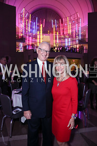 Former Rep. Buck McKeon and Patricia McKeon. Photo by Tony Powell. 2015 Morris K. Udall Awards Dinner. Reagan Building. October 1, 2015