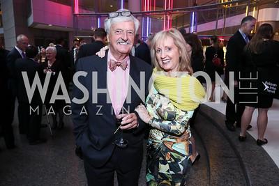 Robin Elliott, Robin Katsaros. Photo by Tony Powell. 2015 Morris K. Udall Awards Dinner. Reagan Building. October 1, 2015