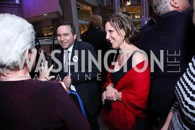 Karl Robb, Samantha Elandary. Photo by Tony Powell. 2015 Morris K. Udall Awards Dinner. Reagan Building. October 1, 2015