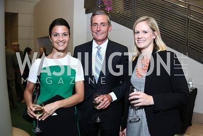 Danielle Steele, Jim Smith, Jessica Foley. Photo by Tony Powell. 2015 Morris K. Udall Awards Dinner. Reagan Building. October 1, 2015