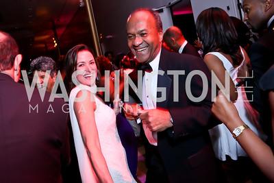 Denise Grant and Frank Raines. Photo by Tony Powell. 2015 Alvin Ailey Gala. Kennedy Center. February 3, 2015