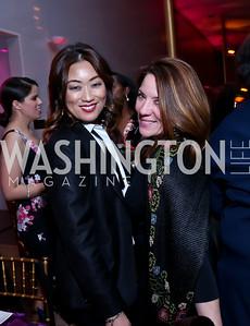 Pamela Sorensen, Kimball Stroud. Photo by Tony Powell. 2015 Alvin Ailey Gala. Kennedy Center. February 3, 2015