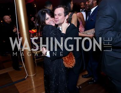 Izette Folger, James Alefantis. Photo by Tony Powell. 2015 Alvin Ailey Gala. Kennedy Center. February 3, 2015