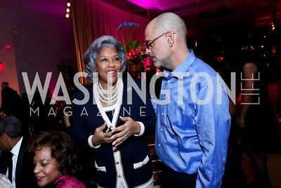 Rep. Joyce Beatty, Robert Raben. Photo by Tony Powell. 2015 Alvin Ailey Gala. Kennedy Center. February 3, 2015