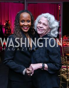 Retired AAADT dancer Renee Robinson, Carolyn Peachey. Photo by Tony Powell. 2015 Alvin Ailey Gala. Kennedy Center. February 3, 2015
