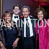 Rep. Eddie Bernice Johnson, Lyndon Boozer, Rep. Mel Watt and Eulada Watt. Photo by Tony Powell. 2015 Alvin Ailey Gala. Kennedy Center. February 3, 2015