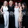 Jamie Dorros, Susanna Quinn, Denise Grant, Pilar O'Leary, Izette Folger. Photo by Tony Powell. 2015 Alvin Ailey Gala. Kennedy Center. February 3, 2015