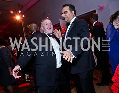 Gideon Malone and Arvind Manocha. Photo by Tony Powell. 2015 Alvin Ailey Gala. Kennedy Center. February 3, 2015