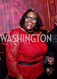 Chancellor of DC Public Schools Kaya Henderson. Photo by Tony Powell. 2015 Alvin Ailey Gala. Kennedy Center. February 3, 2015