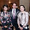 Shamim and Said Jawad, Kurdistan Amb. Bayan Sami Abdul Rahman. Photo by Tony Powell. America Abroad Dinner. Mellon Auditorium. October 28, 2015