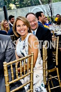 Katie Couric, Jack DiGioia. Photo by Tony Powell. 2015 Bradley WHCD Welcome Dinner. April 24, 2015