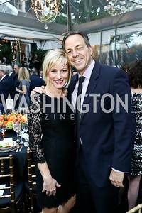 Jennifer and Jake Tapper. Photo by Tony Powell. 2015 Bradley WHCD Welcome Dinner. April 24, 2015