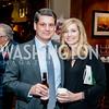 Doug and Lisa Hutchens. Photo by Tony Powell. 2015 Capitals Casino Night. November 14, 2015