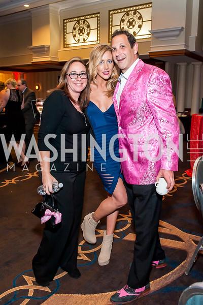 Staci Yolles, Laila Shahbi, Monty Yolles. Photo by Tony Powell. 2015 Capitals Casino Night. November 14, 2015