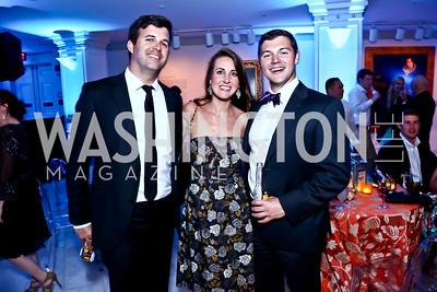 Chris Barber, Amanda Davis, Kevin Guy. Photo by Tony Powell. 2015 Música y Sueños. Women's Museum. May 29, 2015