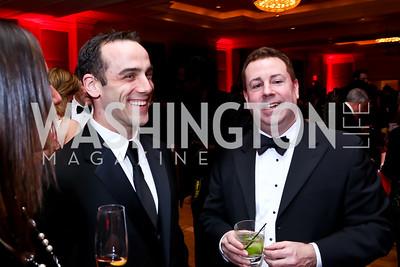 Chris Pentin, Rich Lipsky. Photo by Tony Powell. 2015 DC Heart Ball. Mandarin Oriental. February 28, 2015