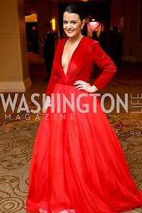 Rebecca Trosset. Photo by Tony Powell. 2015 DC Heart Ball. Mandarin Oriental. February 28, 2015