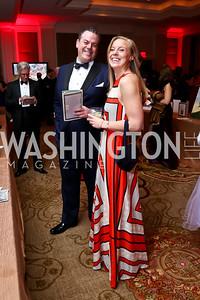 Mark Paster, Logan Ashcraft. Photo by Tony Powell. 2015 DC Heart Ball. Mandarin Oriental. February 28, 2015
