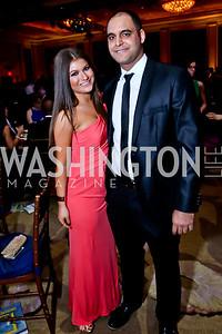 Gabriella Bender, Ehud Hakakian. Photo by Tony Powell. 2015 DC Heart Ball. Mandarin Oriental. February 28, 2015