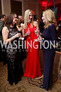 Jill Scherer, Jennifer Harper, Cheryl Fyock. Photo by Tony Powell. 2015 DC Heart Ball. Mandarin Oriental. February 28, 2015