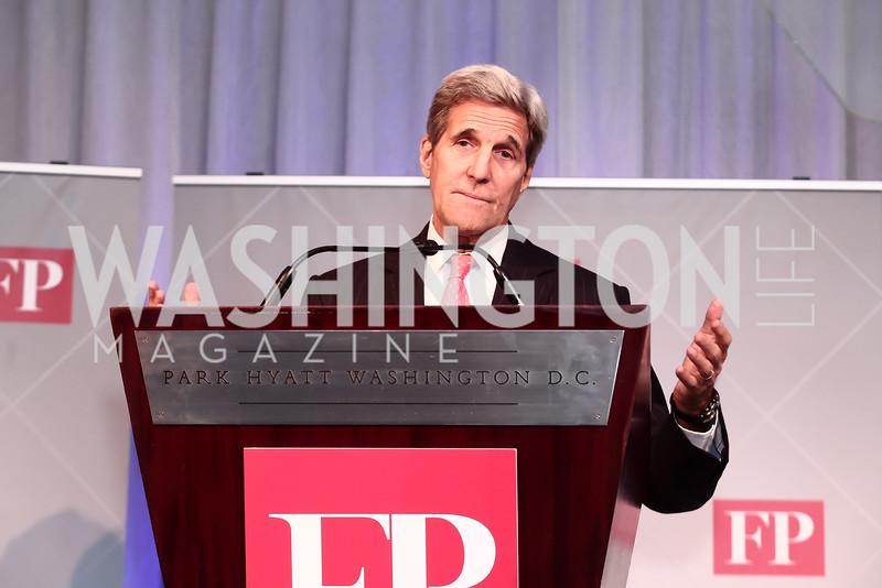 Sec. John Kerry. Photo by Tony Powell. 2015 Diplomat of the Year. Park Hyatt. October 20, 2015