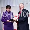 Penny Pritzker, FP President David Rothkopf. Photo by Tony Powell. 2015 Diplomat of the Year. Park Hyatt. October 20, 2015
