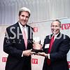 Sec. John Kerry, FP President David Rothkopf. Photo by Tony Powell. 2015 Diplomat of the Year. Park Hyatt. October 20, 2015