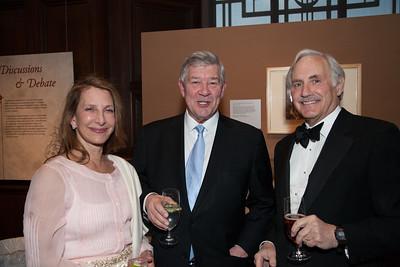 Carla Frampton, George Frampton, Lou Cohen