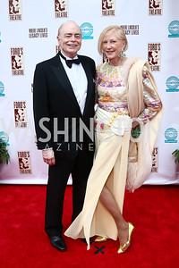 Bill Detty, Lola Reinsch. Photo by Tony Powell. 2015 Ford's Theatre Gala. May 31, 2015
