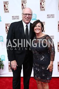 Rep. Joe Crowley and Kasey Nilson. Photo by Tony Powell. 2015 Ford's Theatre Gala. May 31, 2015