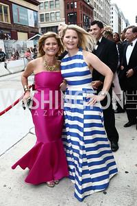 Melissa Maxfield and Melinda Maxfield. Photo by Tony Powell. 2015 Ford's Theatre Gala. May 31, 2015