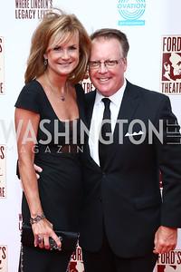 Gail and Jeff MacKinnon. Photo by Tony Powell. 2015 Ford's Theatre Gala. May 31, 2015