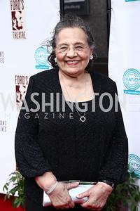 Diane Nash. Photo by Tony Powell. 2015 Ford's Theatre Gala. May 31, 2015