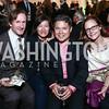 Edward Hull, Lucinda Eng-Garcia and Carlos Garcia, Jamie Holland. Photo by Tony Powell. 2015 Going Places Gala. Warner Theatre. November 4, 2015