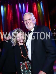 Kay Kendall and Jack Davies. Photo by Tony Powell. 2015 Harman Center Gala. November 1, 2015