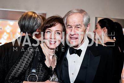 Sara Barker, Gerry Gleason. Photo by Tony Powell. 2015 Helen Hayes Awards. Lincoln & Howard Theaters. April 6, 2015