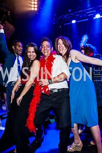 Analesia Diaz, Nathaniel Mendez, Debbi Arseneaux. Photo by Tony Powell. 2015 Helen Hayes Awards. Lincoln & Howard Theaters. April 6, 2015