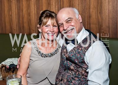 Mary Vinograd, Jim Epstein. Photo by Tony Powell. 2015 Helen Hayes Awards. Lincoln & Howard Theaters. April 6, 2015