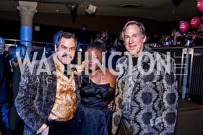 Alberto Ucles, Nova Payton, Tom Noll. Photo by Tony Powell. 2015 Helen Hayes Awards. Lincoln & Howard Theaters. April 6, 2015