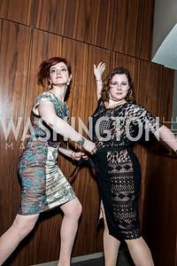 Rebecca Ellis, Karen Lange. Photo by Tony Powell. 2015 Helen Hayes Awards. Lincoln & Howard Theaters. April 6, 2015