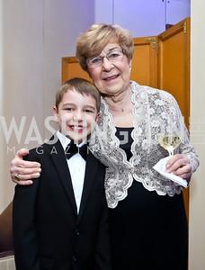 Peter King and Jana Kansky. Photo by Tony Powell. 2015 Heroes Curing Childhood Cancer Gala. Four Seasons. February 21, 2015