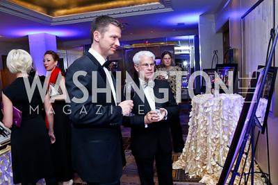 Deric Vinyard, Skip Davis. Photo by Tony Powell. 2015 Heroes Curing Childhood Cancer Gala. Four Seasons. February 21, 2015