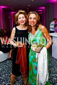 Leily Batmanghelidj, Beli Nasseri. Photo by Tony Powell. Hirshhorn Museum Facing History Gala. May 16, 2015