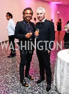 Nader Lotfi, William Thelen. Photo by Tony Powell. Hirshhorn Museum Facing History Gala. May 16, 2015