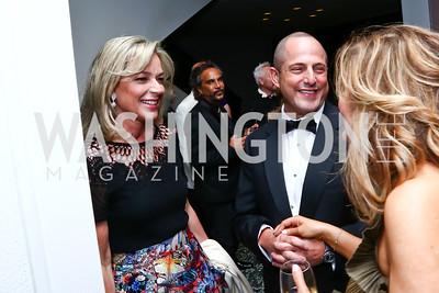Mariella and Michael Trager. Photo by Tony Powell. Hirshhorn Museum Facing History Gala. May 16, 2015