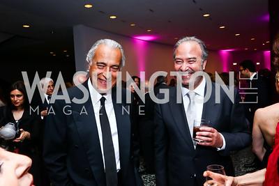 Nader Biglari, Barry Malekzandi. Photo by Tony Powell. Hirshhorn Museum Facing History Gala. May 16, 2015