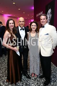 Gwen Holliday, Dadi and Farinaz Akhavan, Amb. Stuart Holliday. Photo by Tony Powell. Hirshhorn Museum Facing History Gala. May 16, 2015