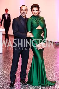 Amir Neshat, Ieva Verkeyte. Photo by Tony Powell. Hirshhorn Museum Facing History Gala. May 16, 2015